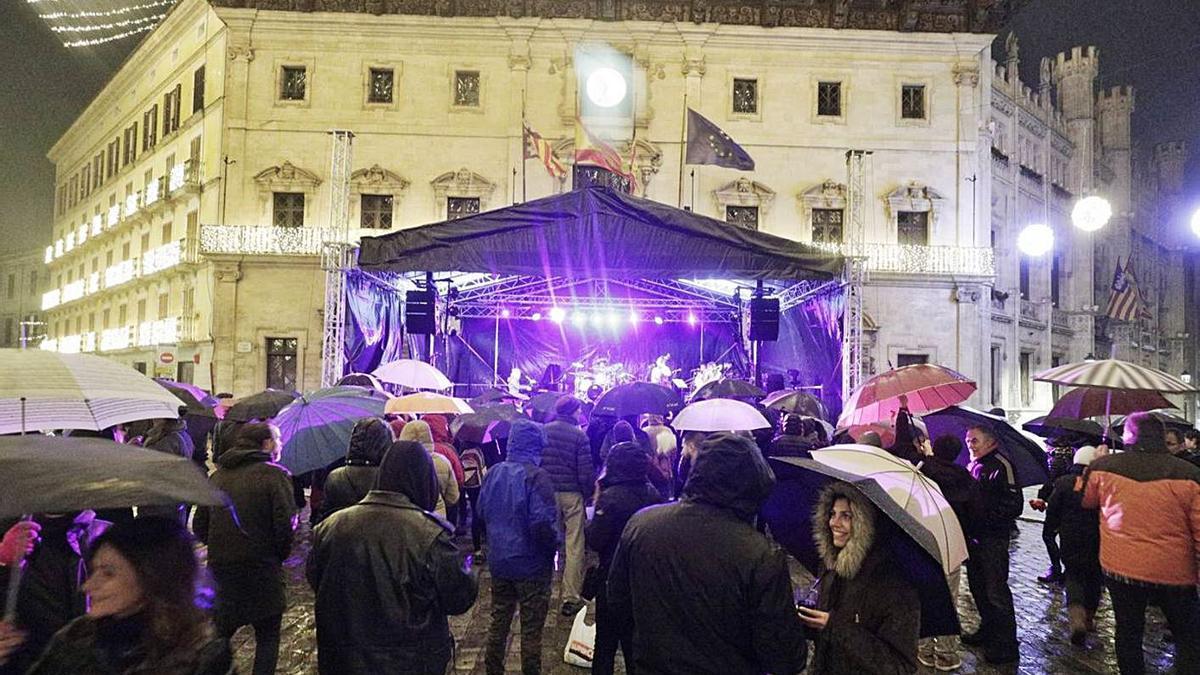 Los asistentes a los conciertos de las próximas fiestas de Sant Sebastià estarán sentados.