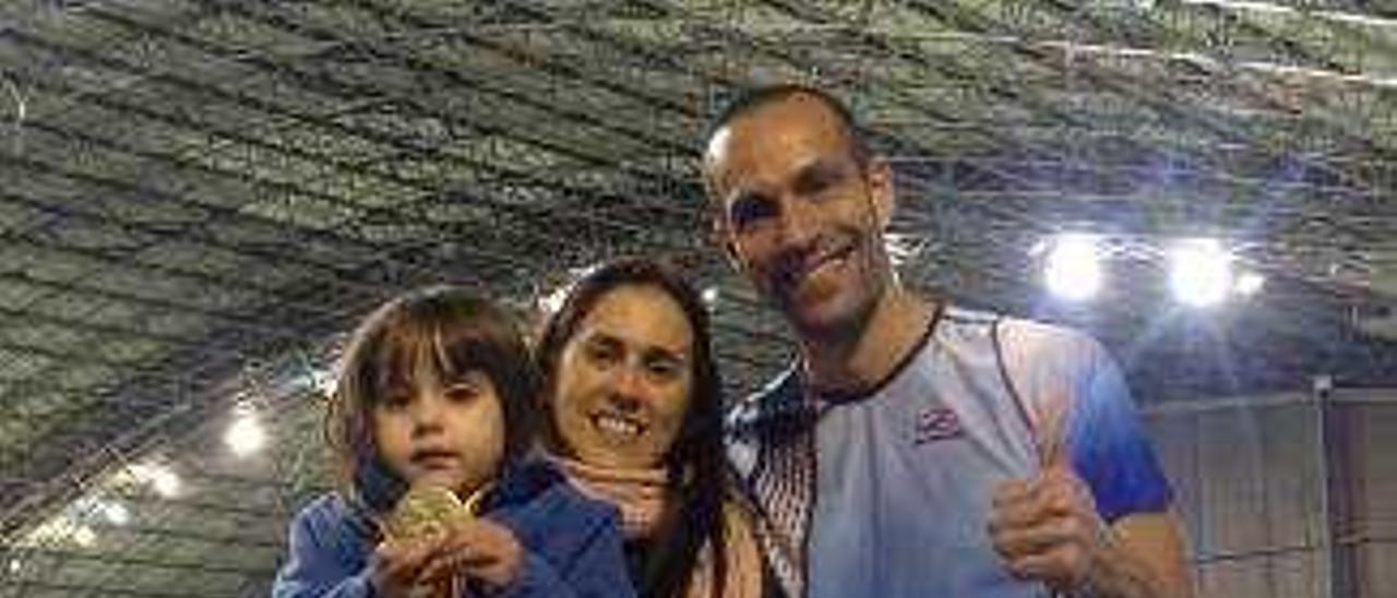 Juanra Pous, del Club l'Espenta, de Oliva, es doble campeón de España