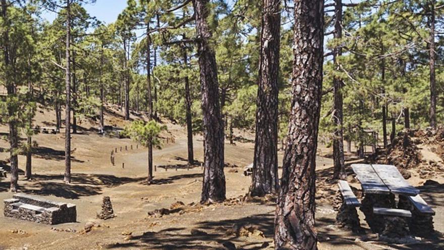El Cabildo invierte 555.000 euros en  la mejora del área recreativa de Chío
