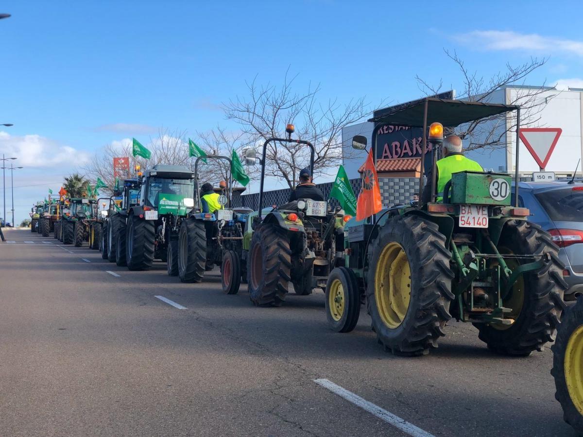 La protesta de los agricultores en imágenes