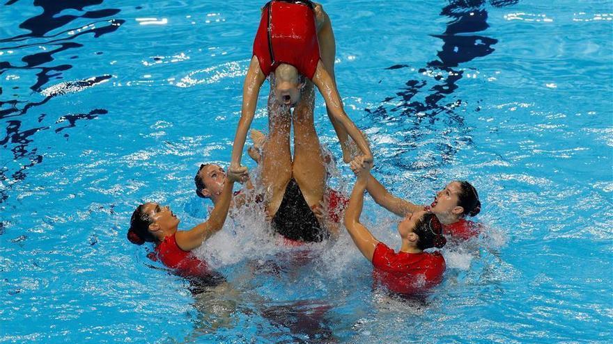 Bronce de España en la rutina highlight, segunda medalla en el Mundial