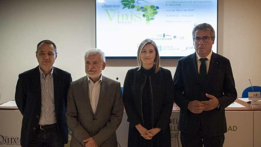 Ourense Vinis Terrae presenta los vinos autóctonos a compradores de 14 países