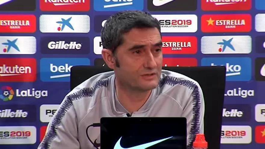 """Valverde no descarta la llegada de un delantero: """"El mercado está abierto"""""""