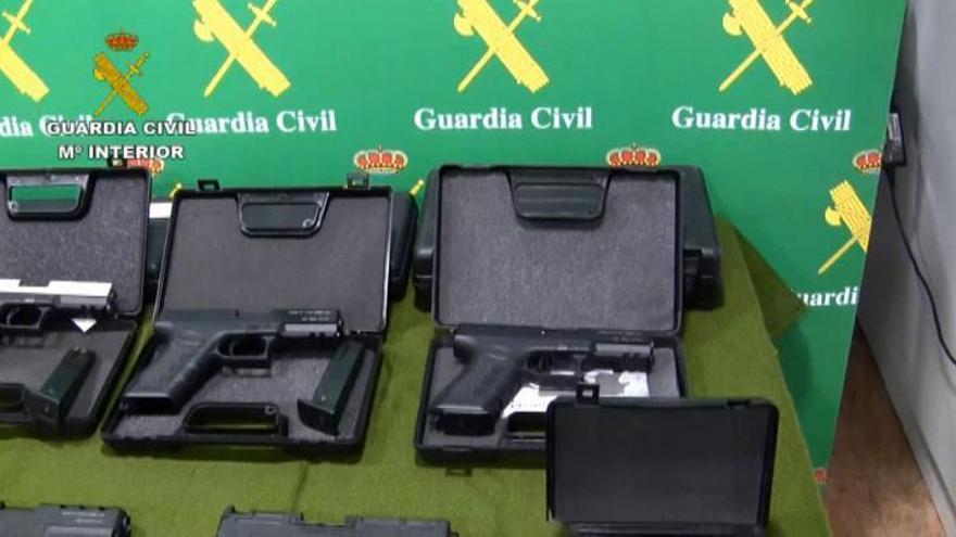 Cae una macro red dedicada al tráfico de armas