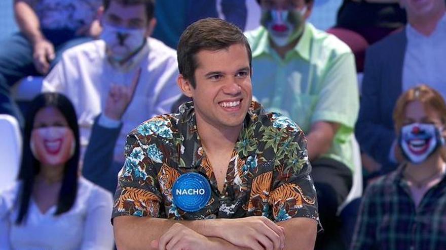 Nacho dice adiós a 'Pasapalabra' tras caer eliminado en 'La Silla Azul'