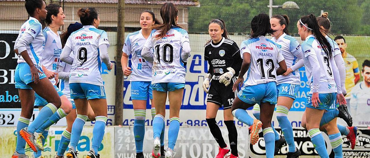 El Interrías Sanxenxo sueña con alcanzar el play off de ascenso tras el partido ante el Oviedo B.