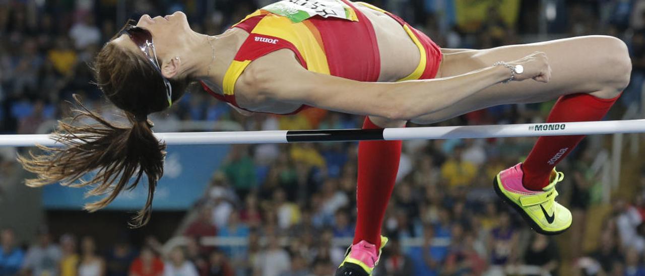 Ruth Beitia, medalla de oro en altura