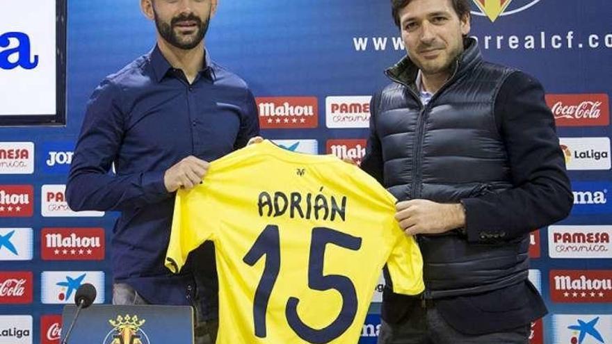 """""""Siempre quise volver al Villarreal"""", dice el asturiano Adrián López"""