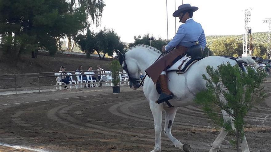 Más de medio centenar de binomios participan en el Campeonato de Andalucía de Menores de vaquera