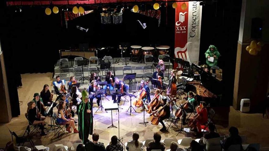 Carnaval en el Conservatorio
