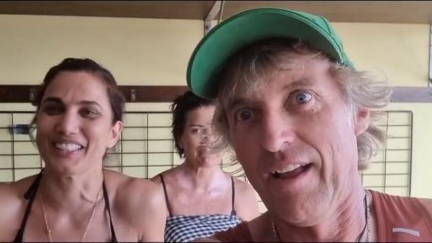 Jesús Calleja bucea en Mallorca con Silvia Abril y Toni Acosta
