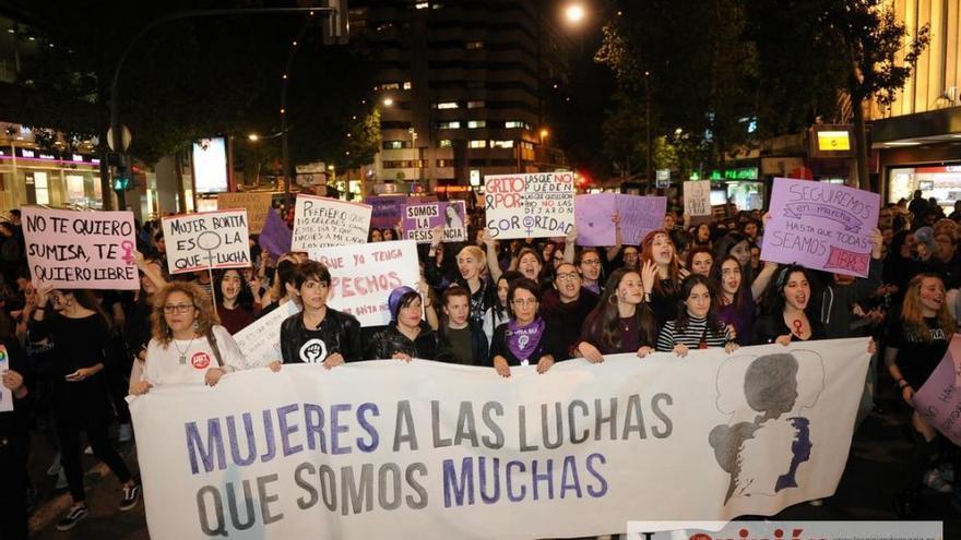 Convocan una huelga general feminista de 24 horas el 8 de marzo en la Región
