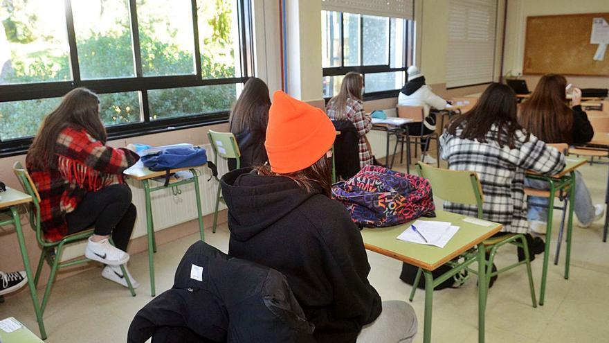 Los alumnos vuelven a las aulas nevera