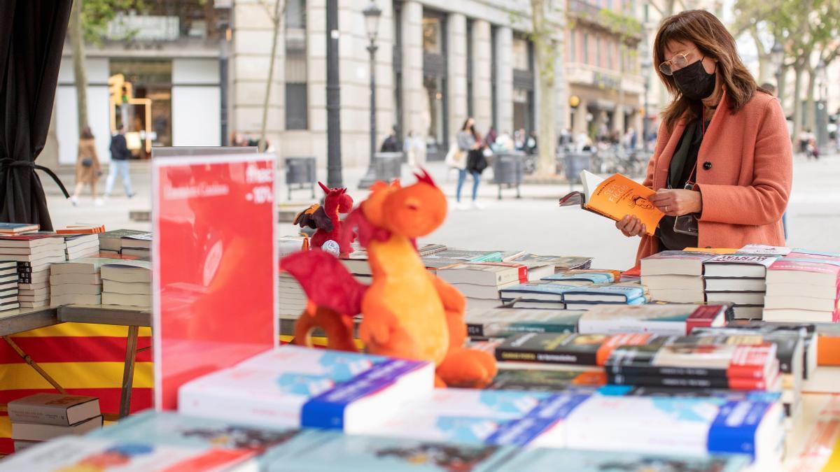 Las librerías ya están preparadas para la celebración en Barcelona