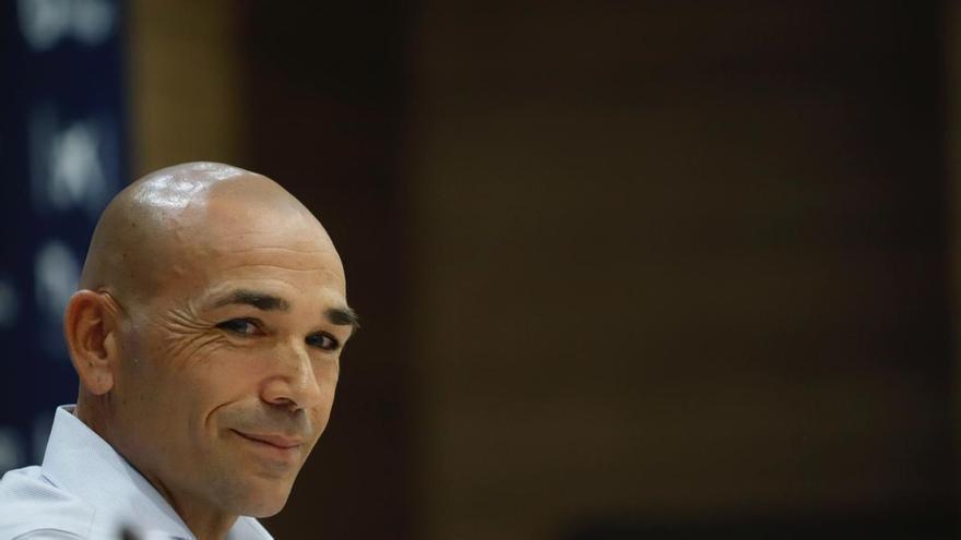 """Manolo Gaspar: """"El domingo me enfadé pero el equipo está comprometido"""""""