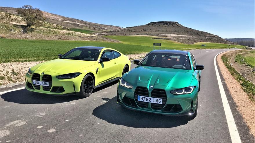 BMW M3 Competition y M4 Competition Coupé 2021: del circuito a la carretera