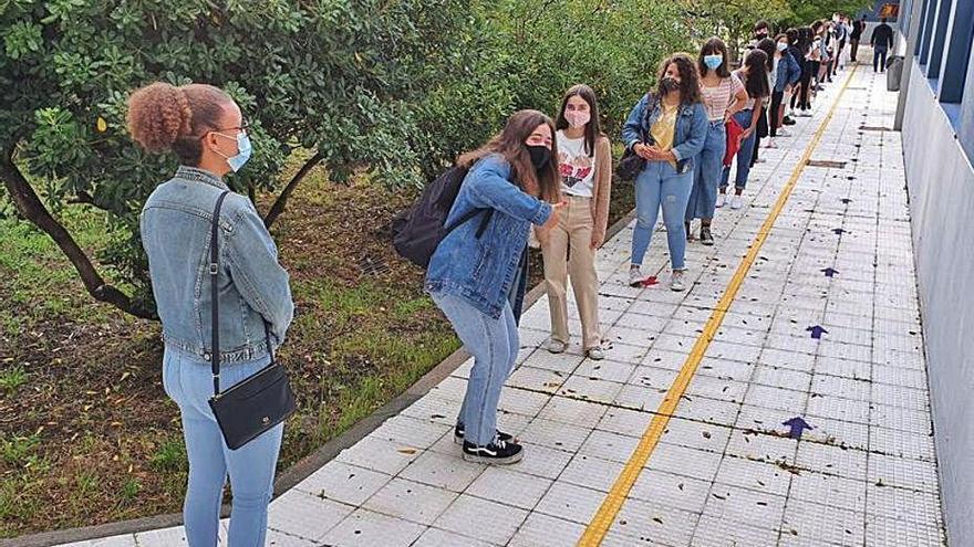 El IES San Simón inicia el curso al acceder Educación a ampliar las horas de limpieza