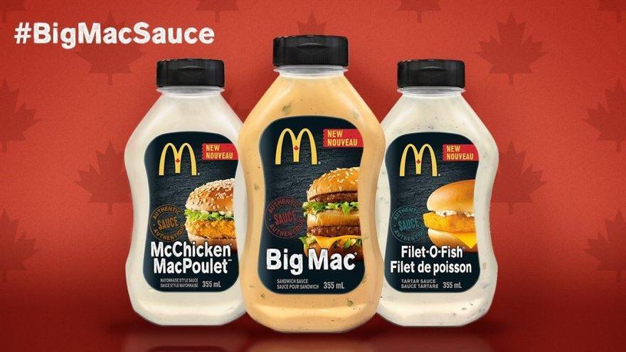 McDonald's venderá sus salsas en los supermercados