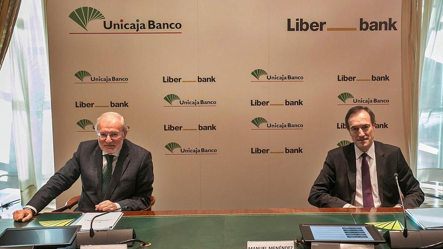 Liberbank y Unicaja firman su fusión