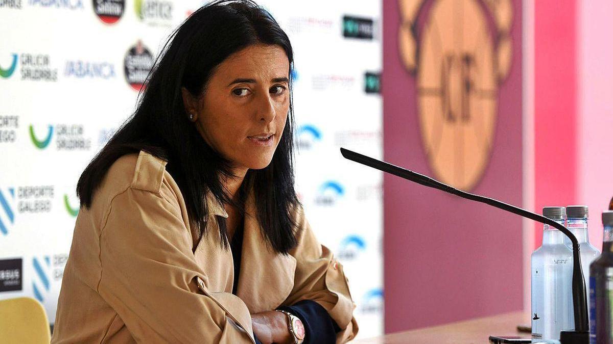 Lupe Murillo, ayer, en la presentación de la campaña de socios.