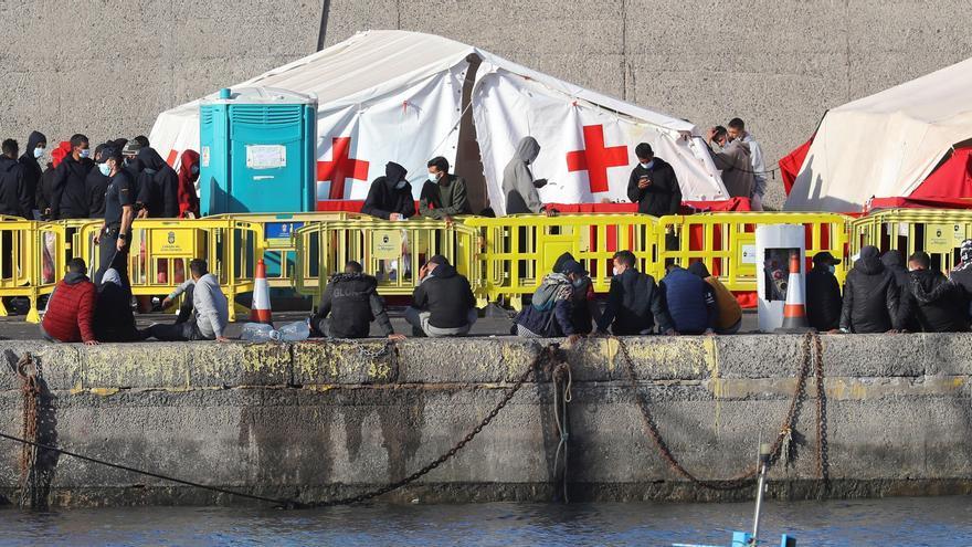 Rescatados 63 inmigrantes en dos pateras en Gran Canaria