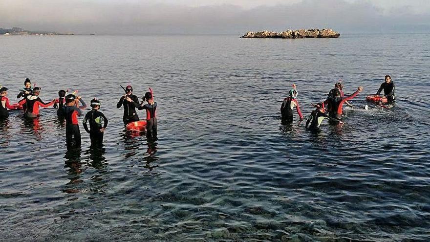 Protegir el fons marí de l'Escala des de les aules