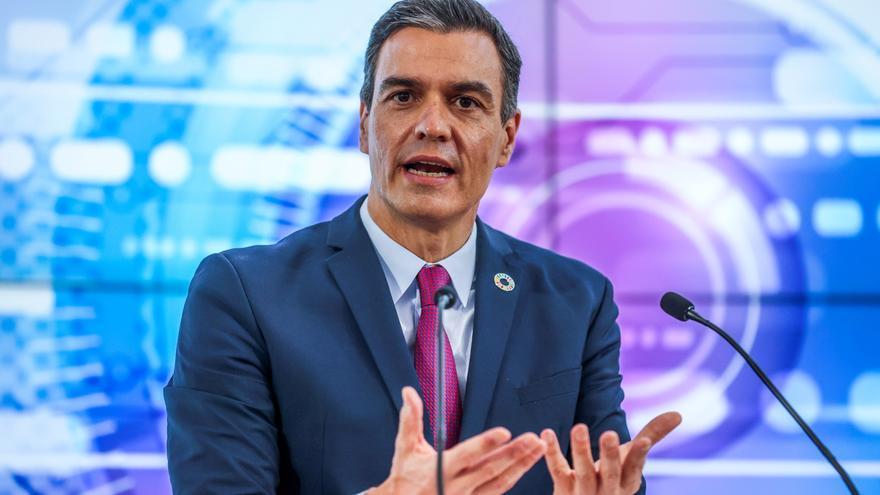 Pedro Sánchez hace balance del año político