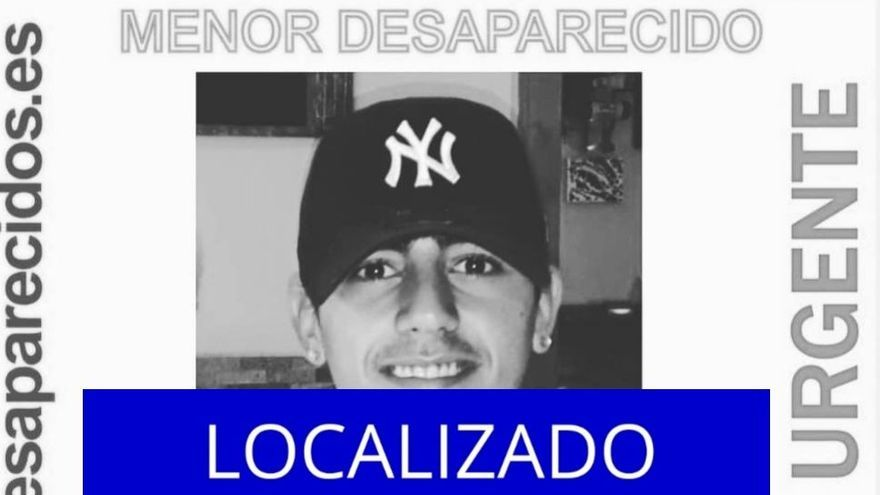 Localizan a uno de los menores desaparecidos en Tenerife