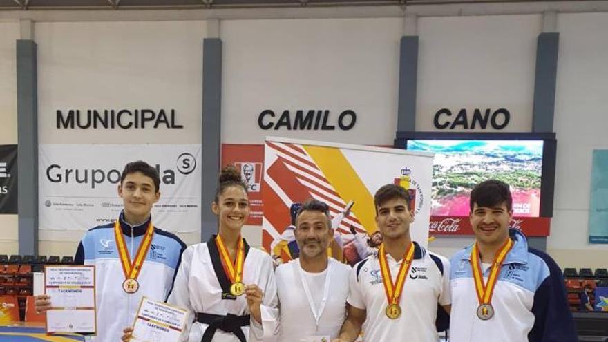 Patiño e Iglesias, oro en el Nacional