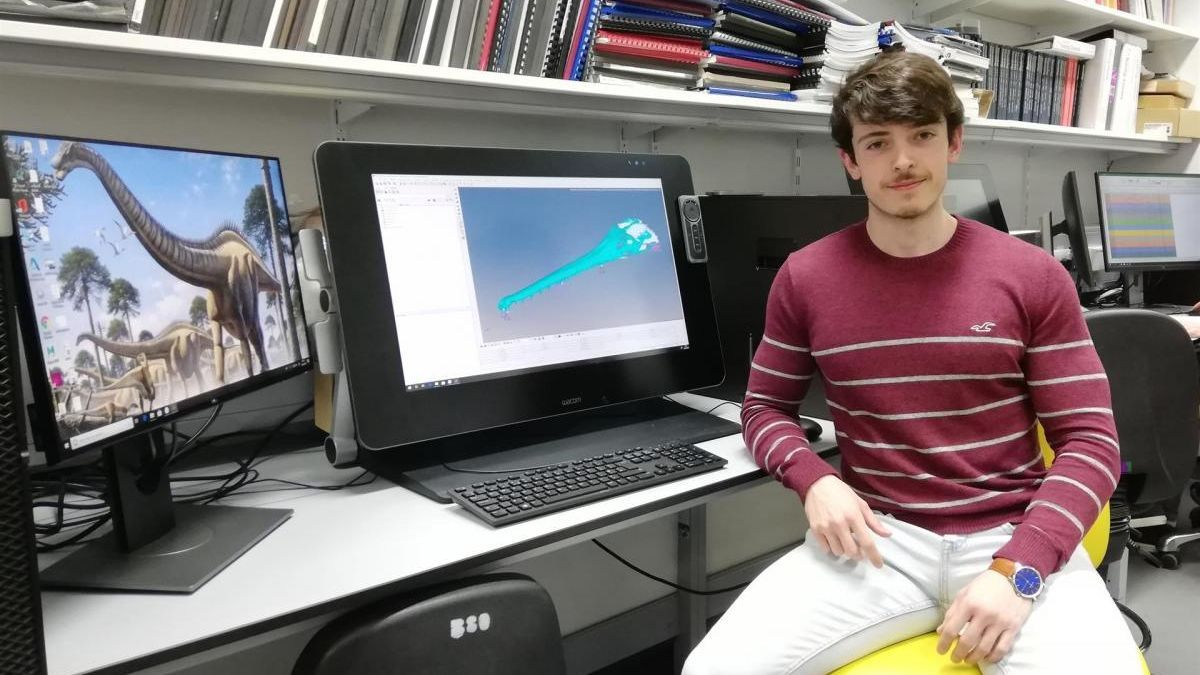 La investigación del cacereño Antonio Ballell se alza con el premio Curry a la mejor tesis de máster del Reino Unido