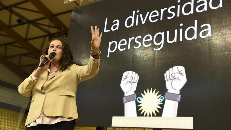 Antonelli pide una ley trans en Canarias para que nadie tenga que irse de casa