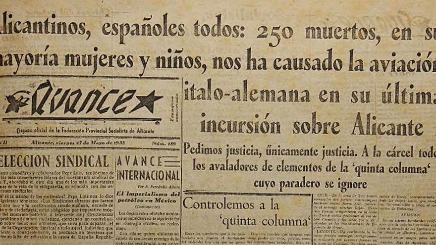 La prensa de la Guerra Civil en Alicante, al alcance de un clic