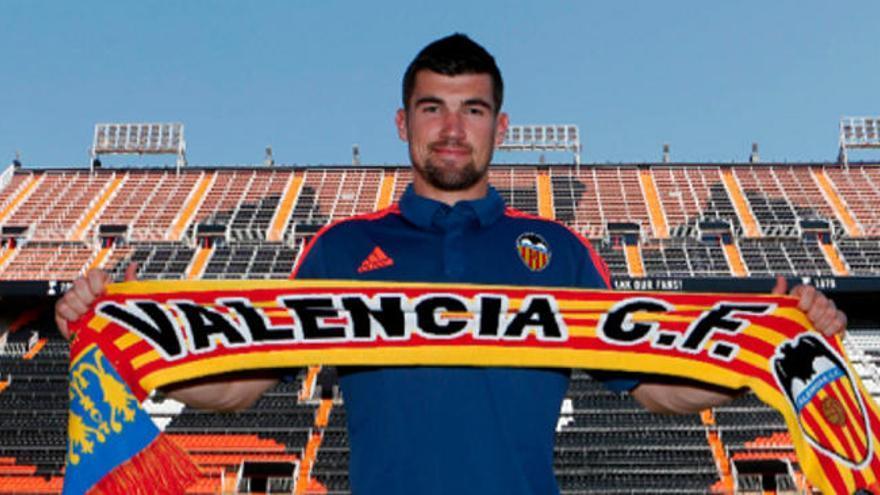 Ryan, portero del Valencia CF hasta 2021