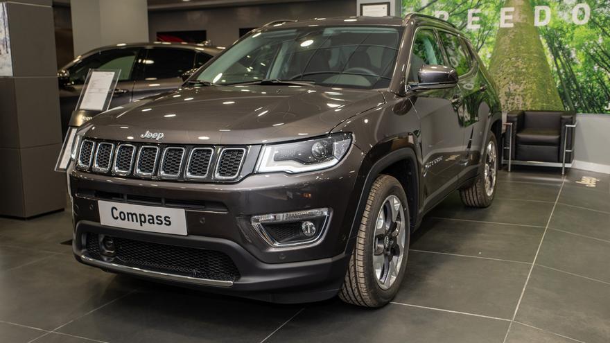 Unidades limitadas del Jeep Compass Limited a 25.635€  en Automóviles Nemesio en Torrent