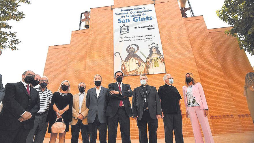 San Ginés ya tiene su iglesia
