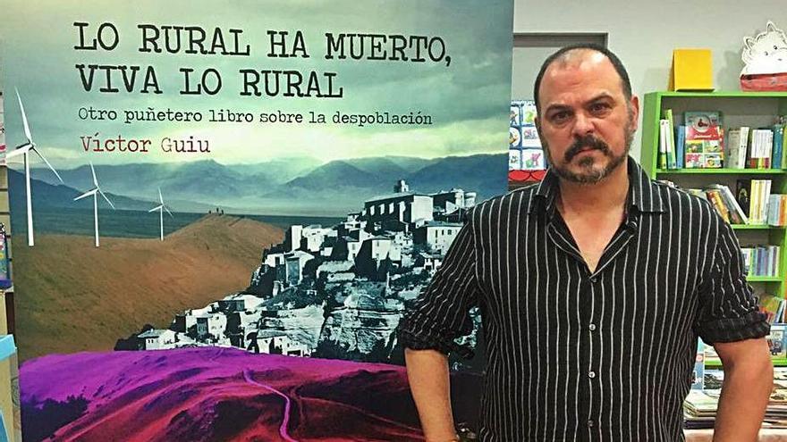 """Víctor Guiu, autor de 'Lo rural ha muerto': """"La causa de la despoblación es nuestro modelo social, económico y cultural"""""""