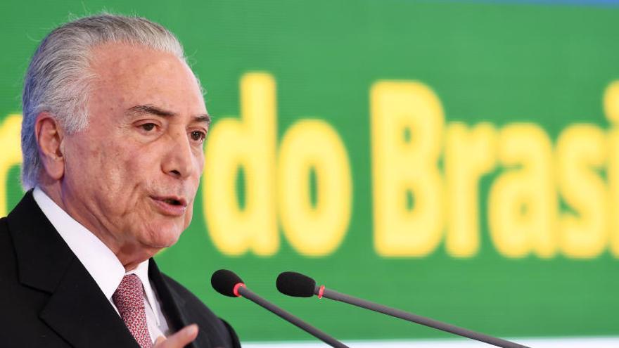 Temer renuncia a presentarse a la reelección en Brasil