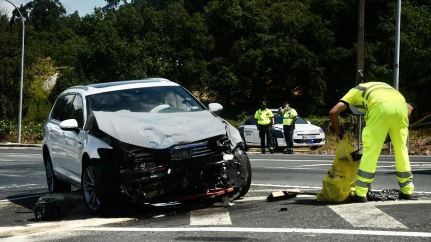 El verano aglutinó la mayoría de accidentes mortales en las carreteras pontevedresas