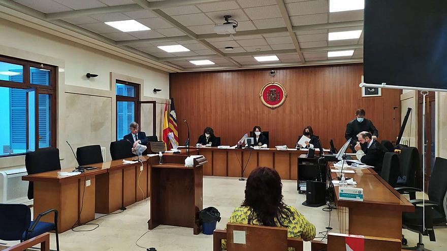 El fiscal mantiene su petición de 3 años para la exalcaldesa de ses Salines
