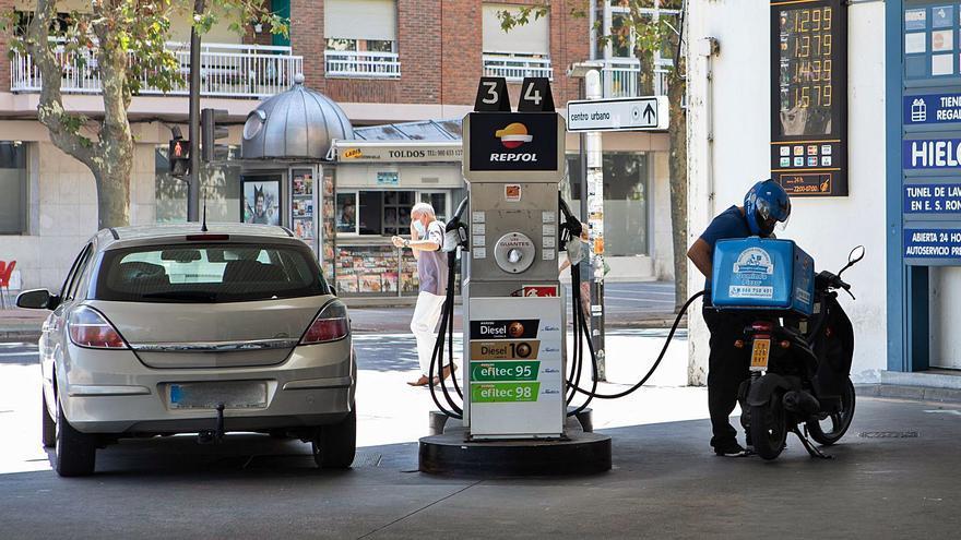 La diferencia entre estaciones de servicio supera los diez céntimos por litro en Zamora