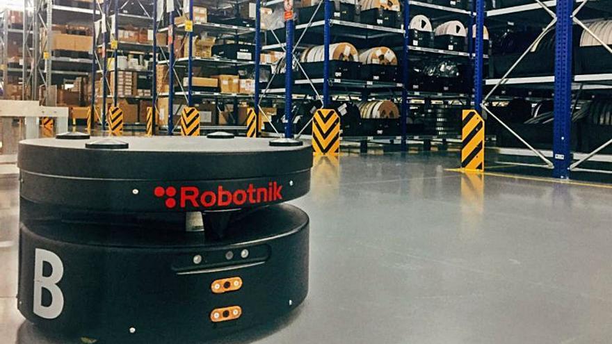 ITC-AICE colabora en la llegada de robots a las pymes para realizar tareas logísticas