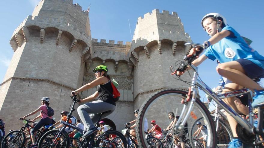 Seis marchas ciclistas pondrán el broche la Semana de la Movilidad