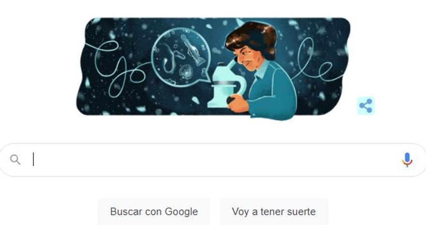 Google celebra el 105 cumpleaños de la oceanógrafa gallega Ángeles Alvariño