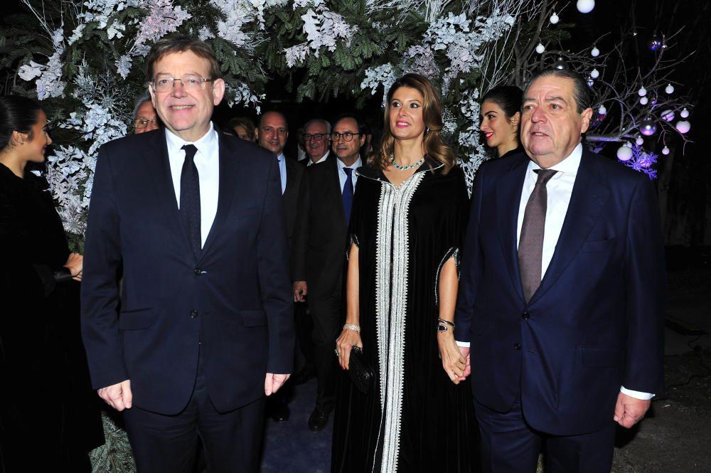 Ximo Puig, Esther Pastor y Vicente Boluda.