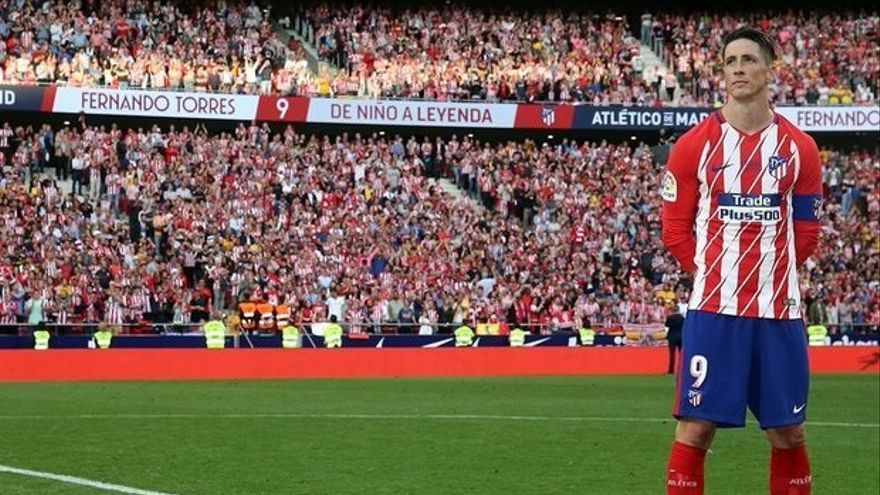 Fernando Torres vuelve al Atlético de Madrid para entrenar al Juvenil A
