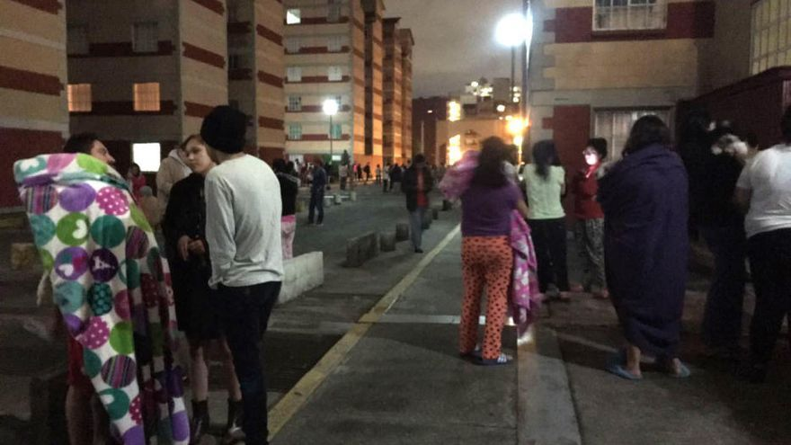 Un terremoto de 8,2 grados sacude México