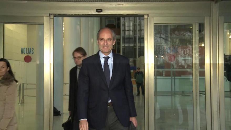 Una segunda imputación estrecha  el cerco judicial sobre Camps