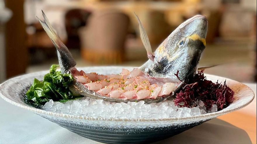 Kabuki Raw: pescado, corte japonés, aliño bilbaíno