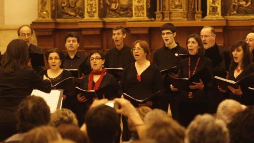La música sacra inunda la iglesia de la Encarnación
