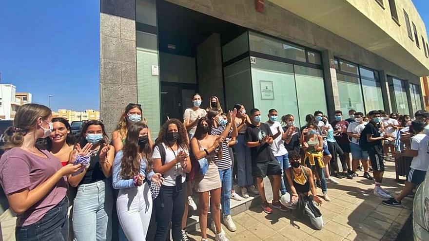 Los estudiantes de Bachillerato se rebelan contra el cambio de horario